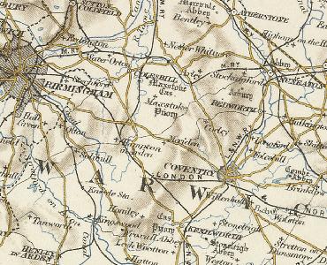 Meriden Map